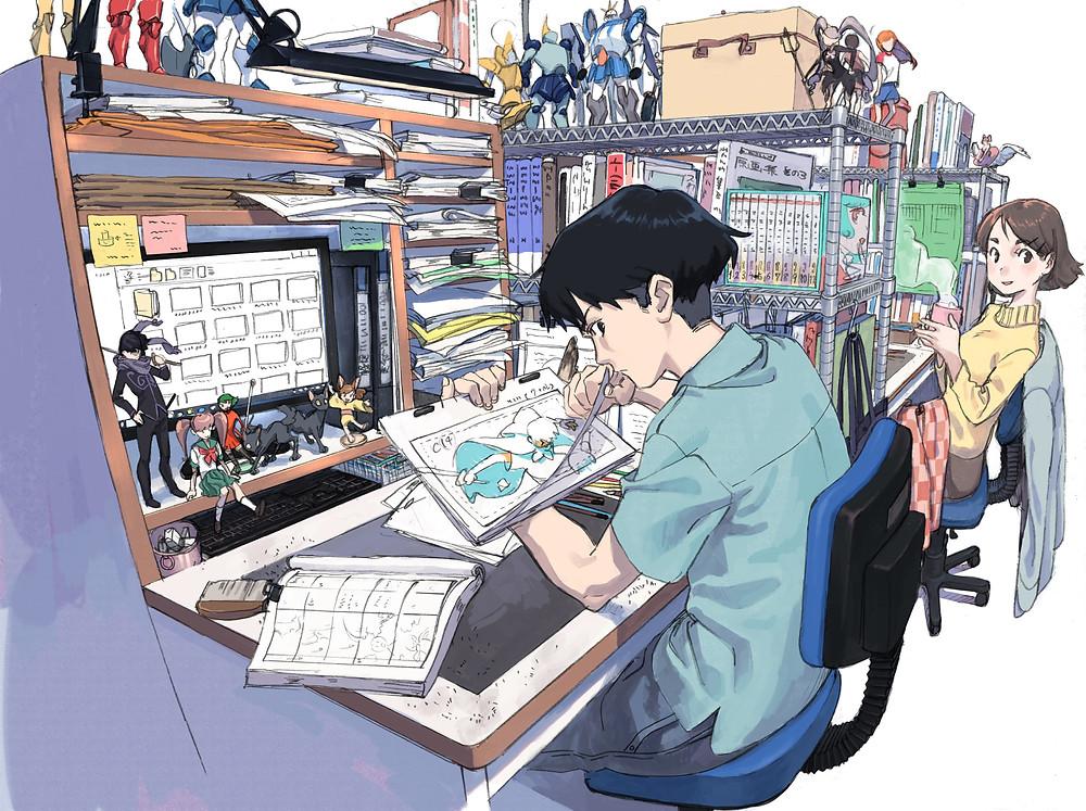 công việc animator đầy sáng tạo