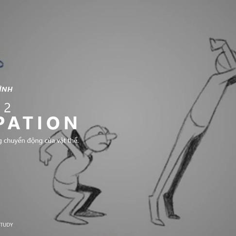 12 Nguyên Tắc Animation - Nguyên Tắc 2: Anticipation