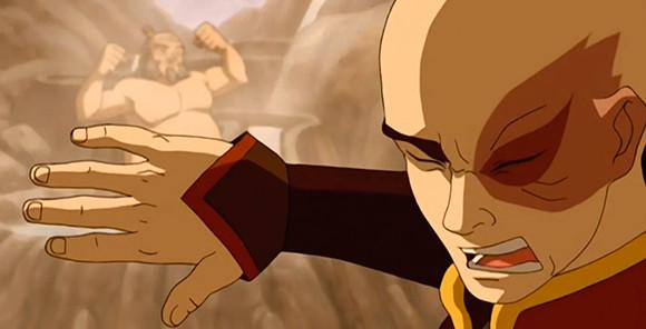 nguyên tắc hoạt hình animation staging trong series phim hoạt hình Avatar The Last Airbender