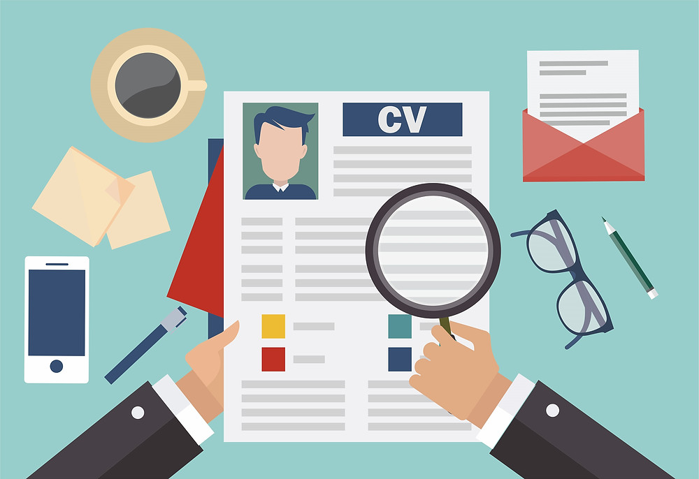 trình bày CV như thế nào