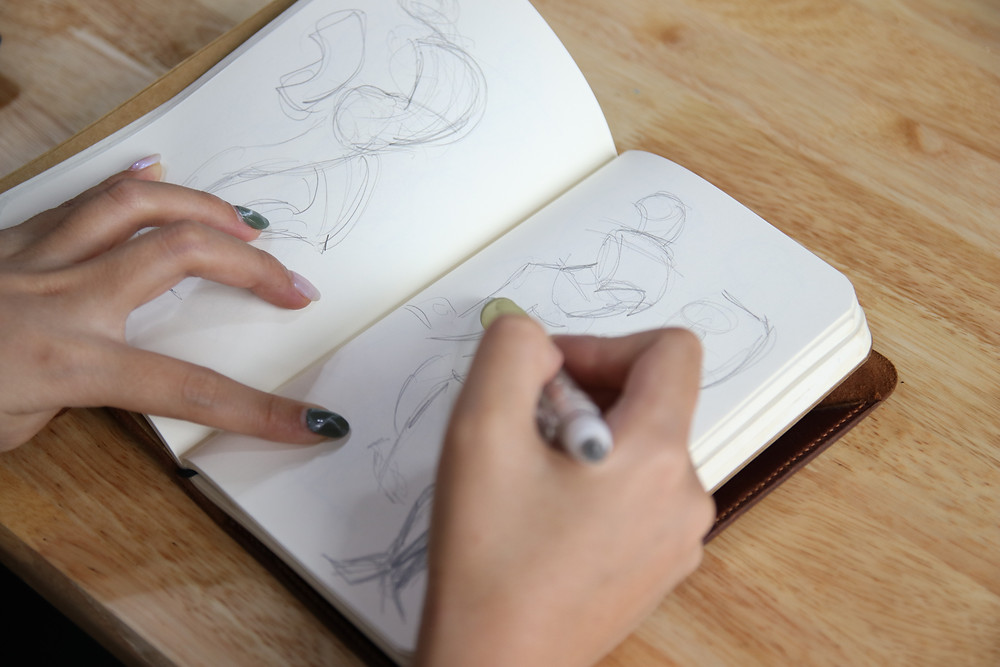 học animation nên chuẩn bị sẵn một cuốn sổ vẽ