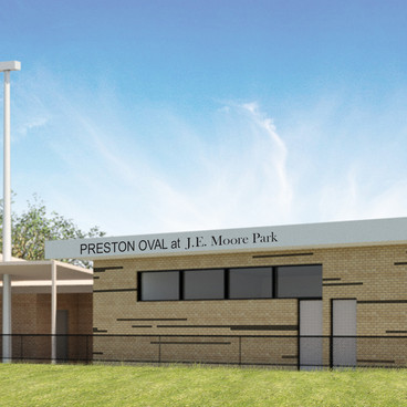J.E. Moore Park Sports Pavilion