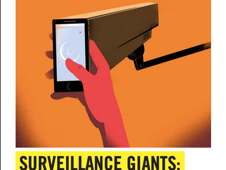 Surveillance Giants and the Threat on our Human Rights