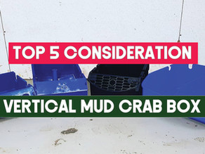 Top 5 design consideration for Vertical Mud Crab Farming Boxes | Aquaculture Technology
