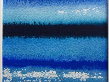 Blue Reflections I