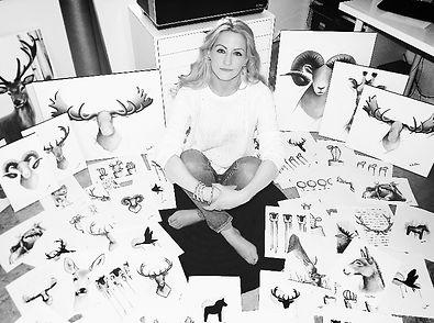 Stockholm based, Swedish artist, Linda Otton
