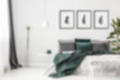 Bedroom - pine cones.jpg