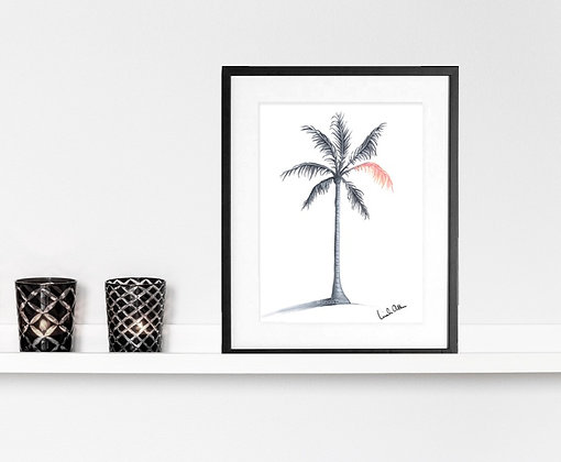 Palm tree - art print