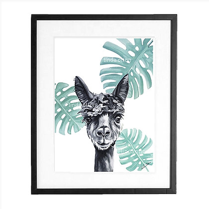 Alpaca - art print