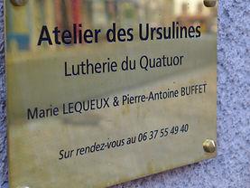 Atelier des Ursulines à Saint-Hippolyte (25)
