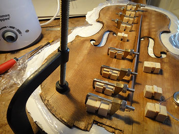 restauration violon