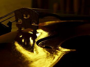 réglage violon