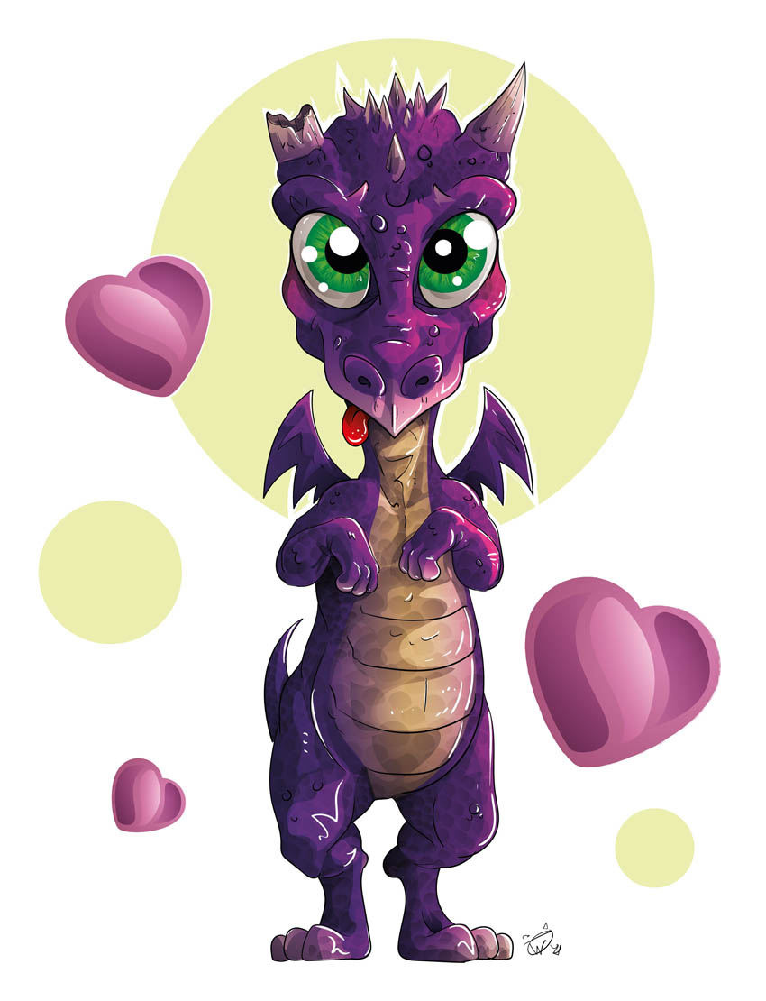 The Love Dragon