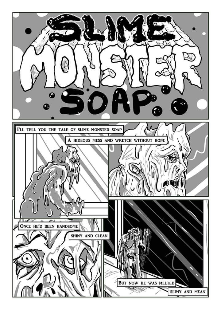 Slime Monster Soap