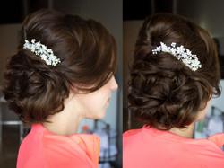Hair by Judy Limhanie's hair