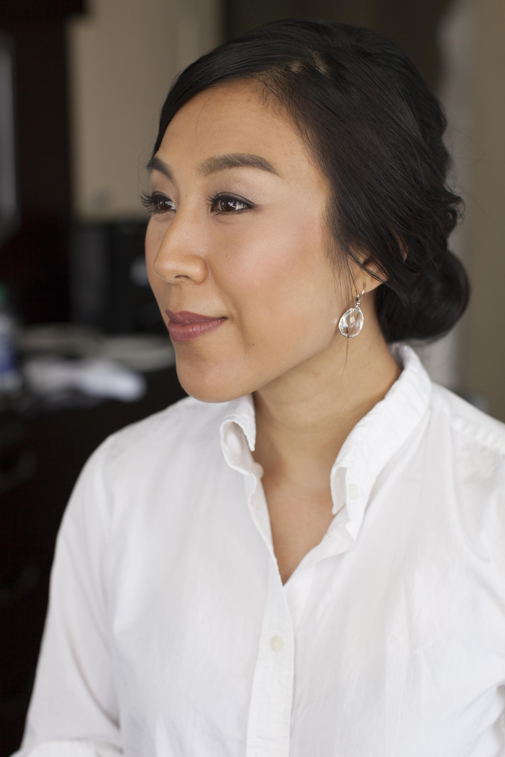 Hair and makeup by Judy Lim