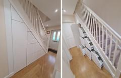 Under Stair Storage Solution in Aberdeen, Aberdeenshire, Scotland