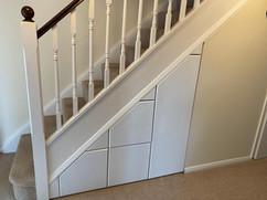 Under Stair Storage Solution in Fleet, Hampshire