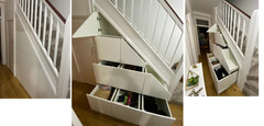 Under Stair Storage Drawers in Mill Hill East, North West London