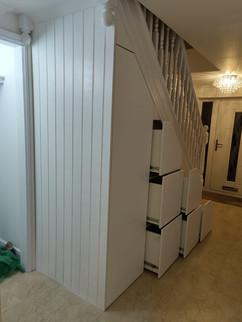 Under Stair Storage Solution on the Wirral, Merseyside