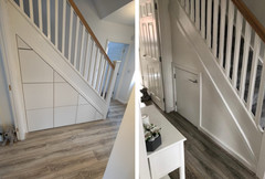 Under Stair Storage Drawers installed in Worsley, Greater Manchester, UK