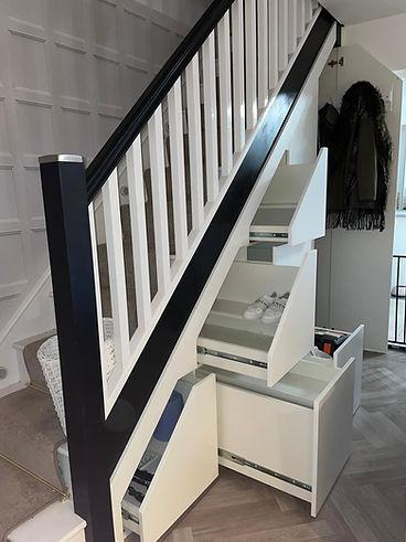 Under Stair Storage Solutions