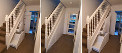 Under Stairs Storage Solution in Garstang, Wyre, Lancashire near Preston