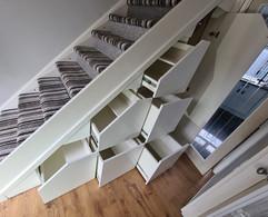 Under Stair Storage in Glasgow, Scotland
