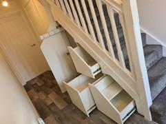 Under Stair Storage System Installed in Tamworth, Staffordshire