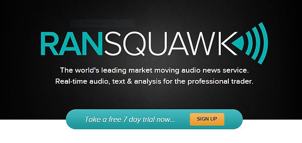 RANsquawk Real-time Forex Audio News