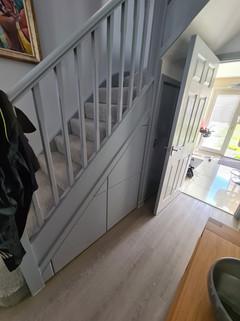 Under Stair Storage Solution Installed in Edgbaston, Birmingham, West Midlands