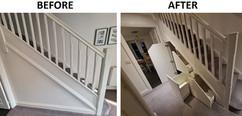 Under Stairs Storage Solution Installed in Fleet, Hampshire