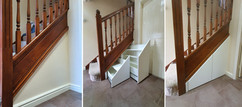 Full Height Under Stairs Storage Drawers in Brighouse, near Huddersfield, West Yorkshire