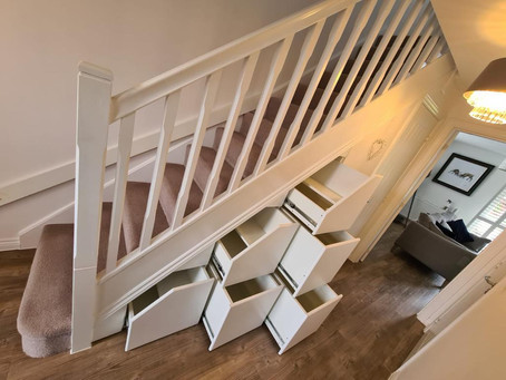 Be Clever, Create Space & Tidy Up Storage Under Your Stairs!