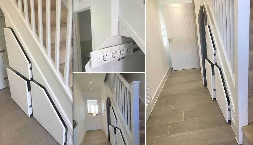 Under Stairs Storage Installers & Fitters in the UK