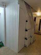 Under Stairs Storage Drawers Cupboard