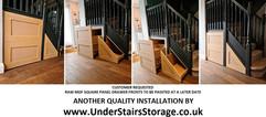 Under Stair Storage Drawers in Renfrewshire, near Glasgow, Scotland