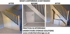 Under Stair Storage Solution in Cottam, Preston, Lancashire