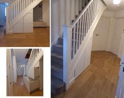 Under Stair Storage Solution in Shifnal, Telford, Shropshire