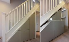 Under Stairs Storage Solution in Wigan, Lancashire