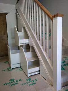Under Stair Storage Installation in Kings Langley, Hertfordshire