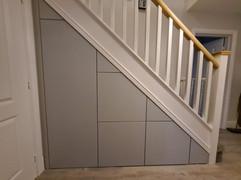 Under Stairs Storage Solution in Herne Bay, Kent