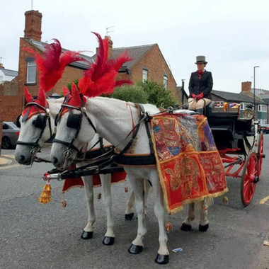 Horse and cart Ceremonial
