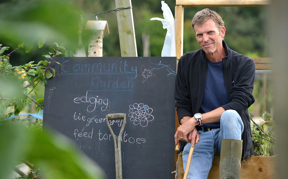 James Hamilton-Andrews East Hoathly & HAlland Community Garden Project