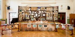 Pop up set and exhibition Sadder's Proje
