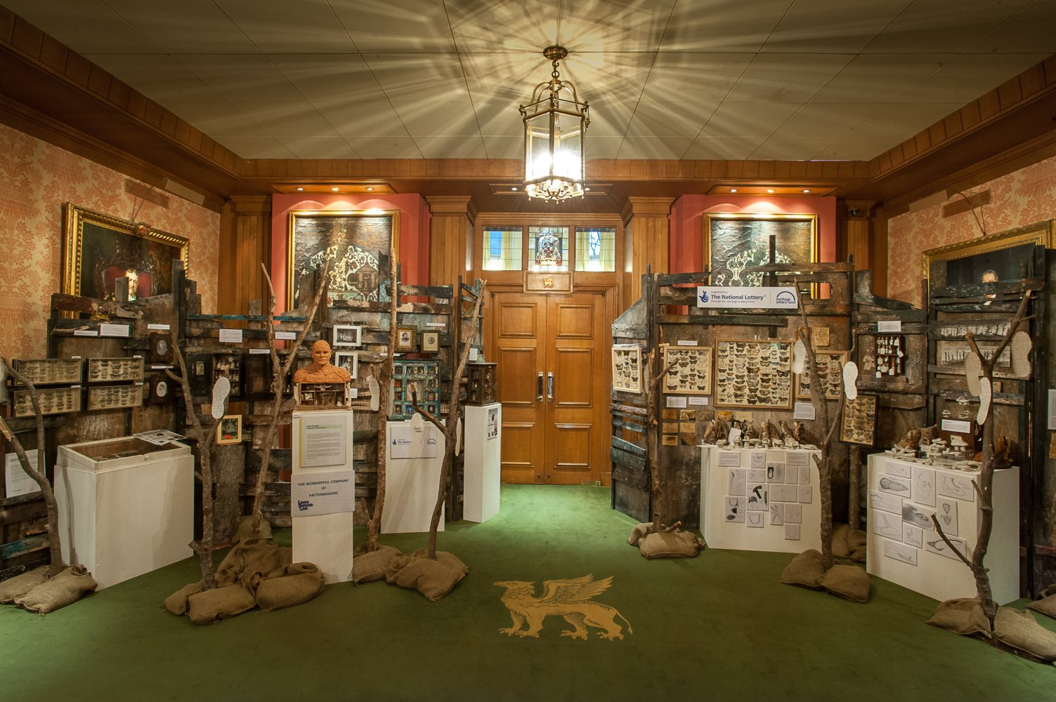 Exhibition at the Barber Surgeon's Hall