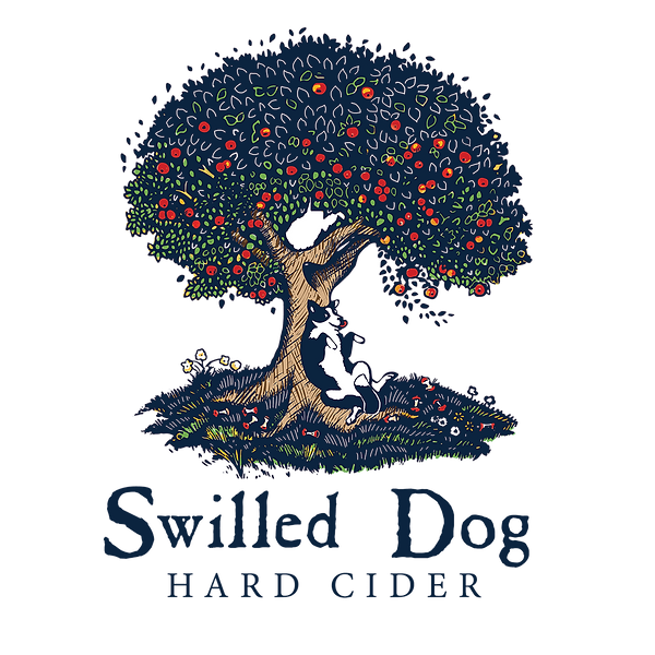 Swilled Dog color logo png transparent b