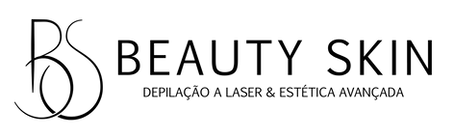 Logo - BEAUTY SKIN - preto - horizontal