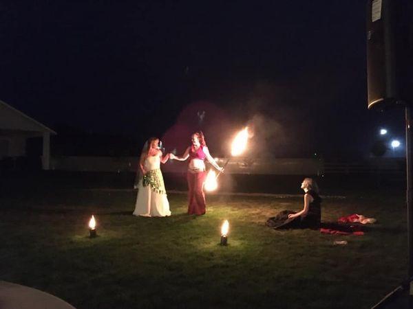 Wedding Fire Performance