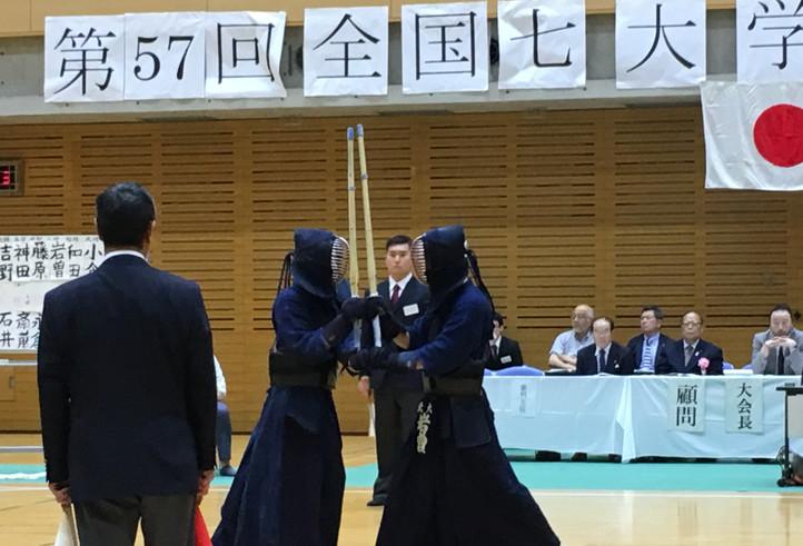 丹生選手との対決、岩曽